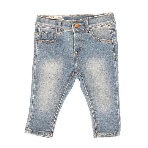 3-6M | ZARA | מכנסי ג'ינס ווש