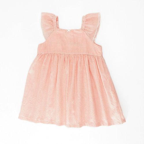 3M   OshKosh   שמלת פסי קורל