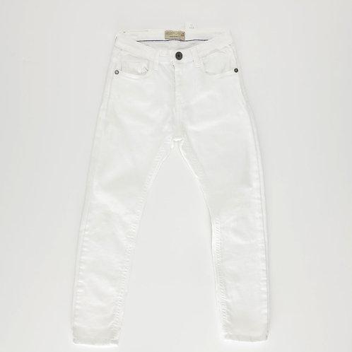 6Y | ZARA  | מכנסיים ג'ינס לבנים