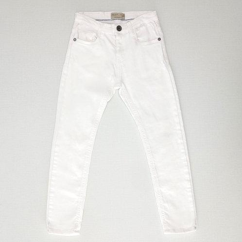 6Y   ZARA    מכנסי ג'ינס לבנים