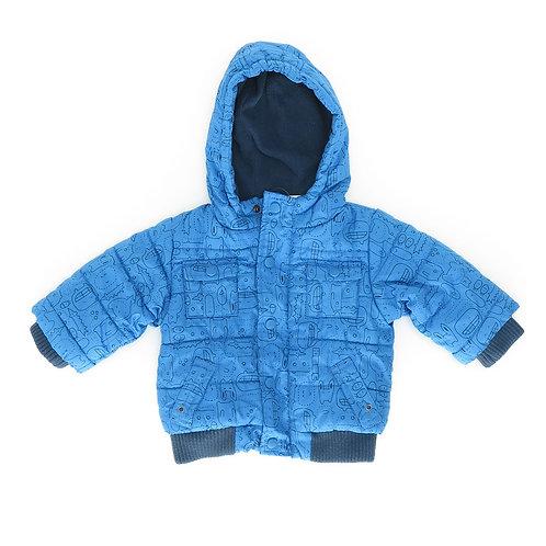 3-6m | FOX |  מעיל יצורים כחולים