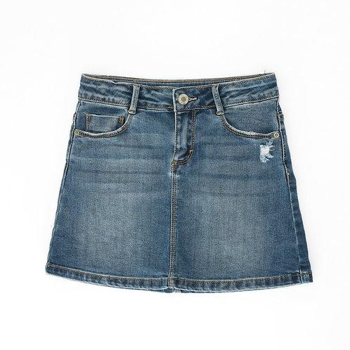 7-8Y | ZARA | חצאית בגי'נס