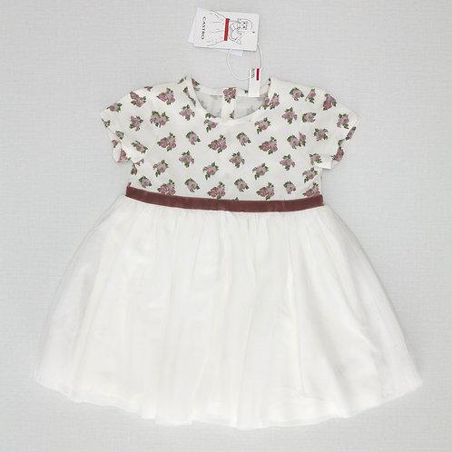12-18M | CASTRO | שמלת טול עם ורדים