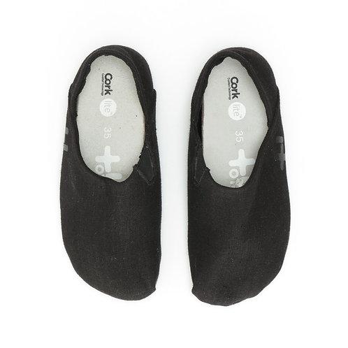 Size 35   OTZ Shoes   נעלי בד שחורות (Espadrille)
