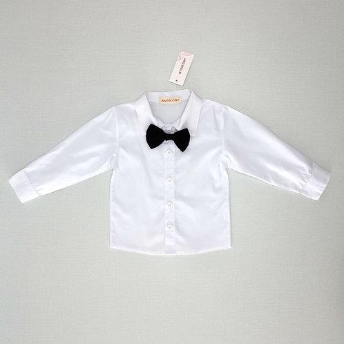 12M |   חולצה חגיגית עם פפיון