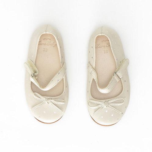Size 18 | ZARA | נעלי בובה כוכביות