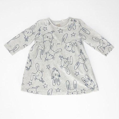 9M | Cool Club | שמלת טריקו ארנבונים