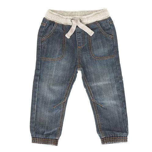 18-24M | מכנסי ג'ינס עם גומי