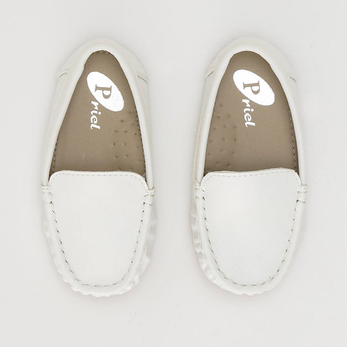 Size 23   Periel   מוקסינים לבנים