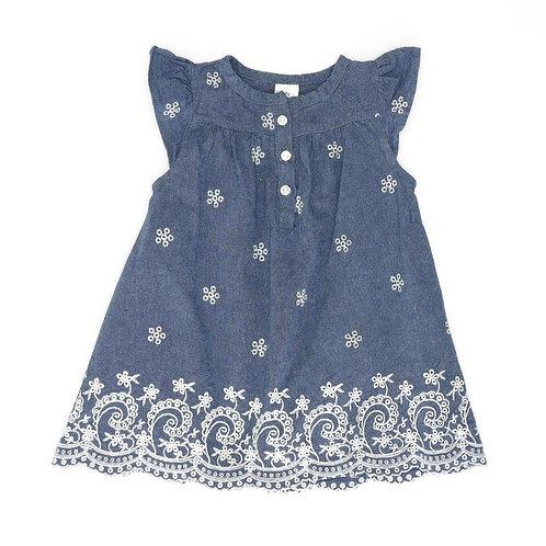 6M | OshKosh | שמלה רקומה