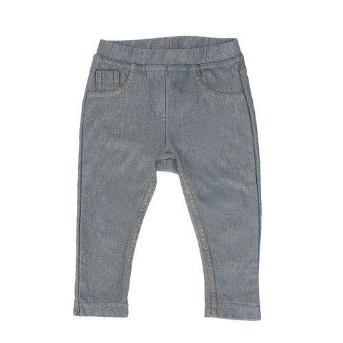 9M | ZARA | מכנסי טייץ בצבע ג'ינס