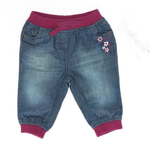 6M | Baby Club | מכנסי ג'ינס דו שכבתי