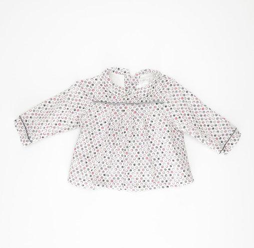 6M | OBAIBI | חולצת עיגולי פסטל