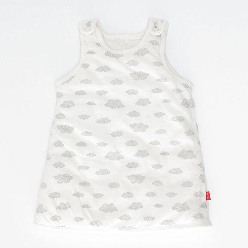 0-3M | SHILAV |  שמלה מרופדת עננים