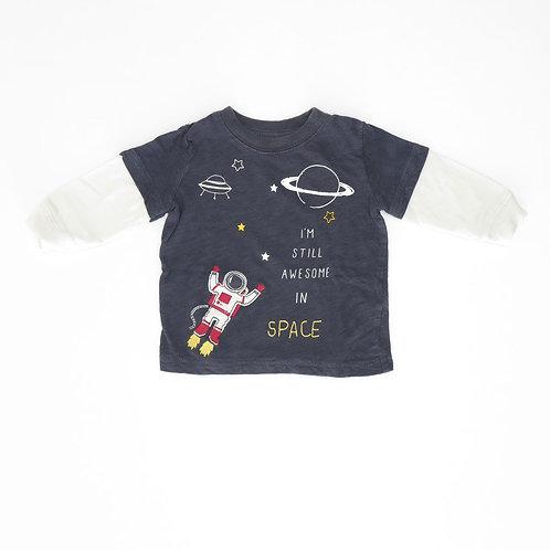 6M | Carter's | חולצה אסטרונאוטית