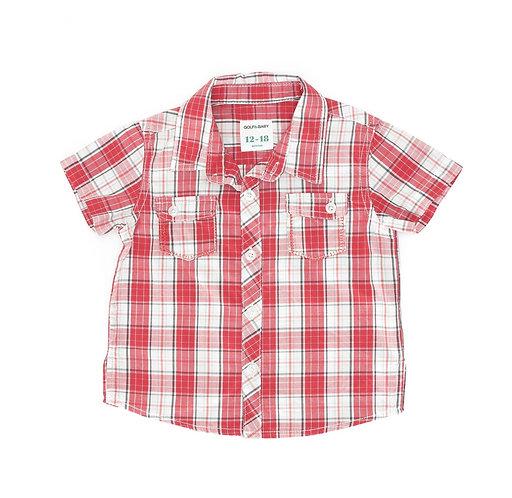 12-18M | GOLF | חולצת משבצות
