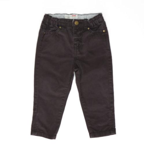 6-12M | CASTRO | מכנסי כותנה שחורים