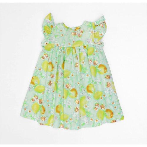 3M | שמלת לימונים צרפתית | וינטאג