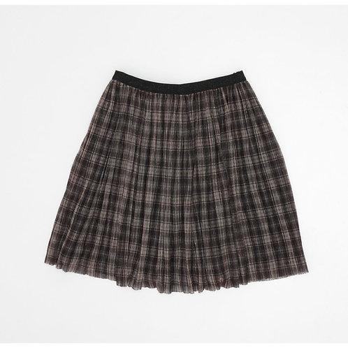 10-12Y | ZARA | חצאית פליסה זהובה