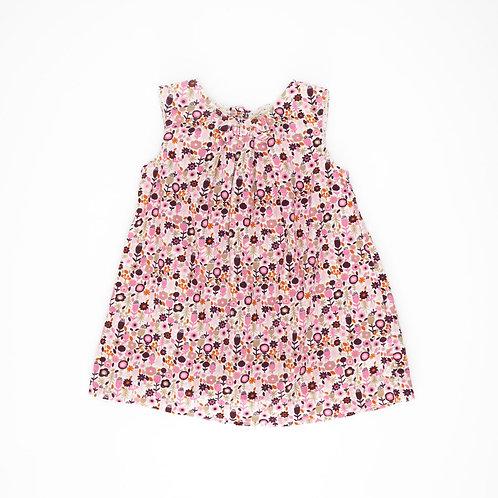 3-6M | H&M | שמלת קורדורוי פירחונית