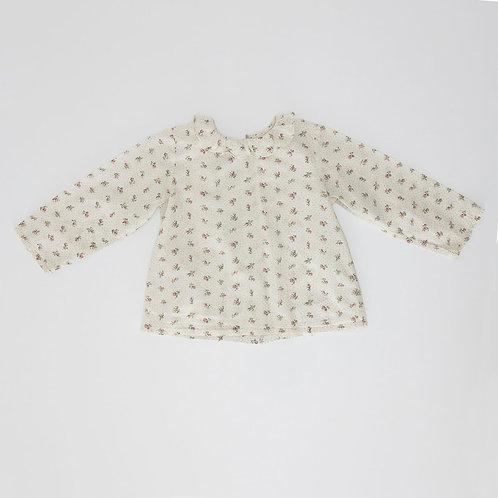 18M   Bonpoint   חולצה פרחונית רומנטית