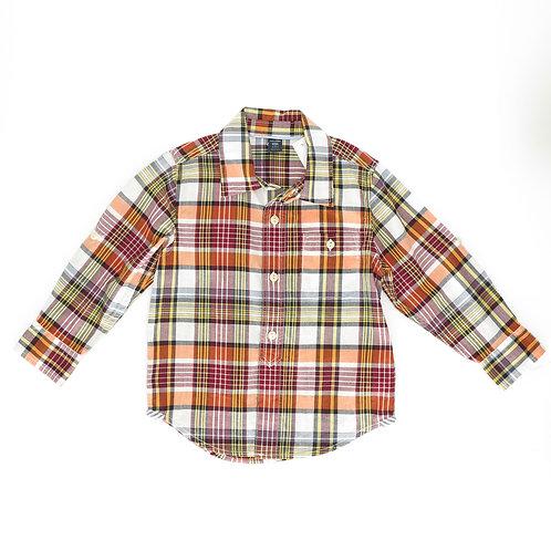 3Y   GAP   חולצת כפתורים משובצת