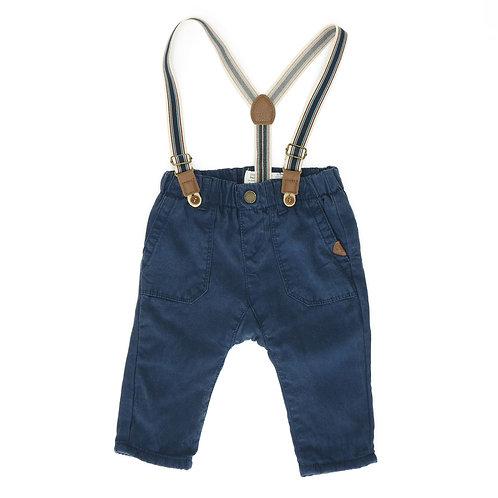 3-6M | ZARA | מכנסי שלייקס כחולים