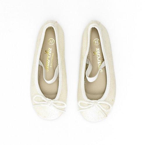 Size 23-24 | Marcha Ballerina | נעלי בובה נצנצים