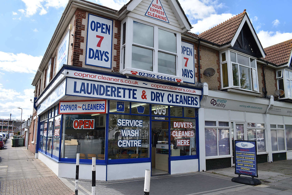 Copnor Cleaners Dry Cleaners Launderette