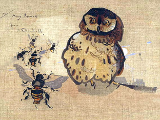 """""""Owl and Bees"""""""