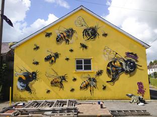 Amazing Bee Murals