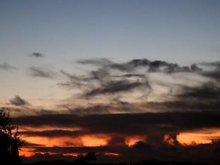 Dramatic Autumn Sunset
