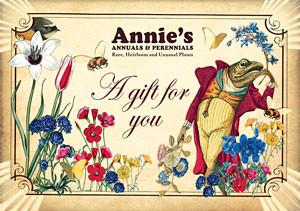 Annie's Annuals Gift Certificates
