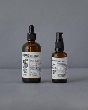 Fuerza Reparadora - Hair Oil Shintsiri 100ml + Body Oil Aero 50ml