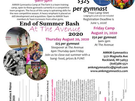 2020 AMKM Summer Camp- Team @ The Farm