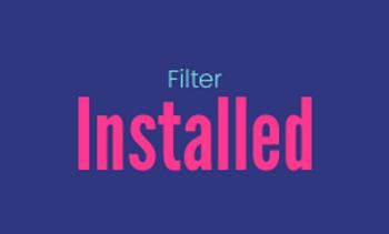 Filter (Installed)