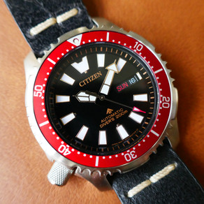 The Citizen Promaster NY0091-83E Fugu 2019 Asia Limited Edition Red