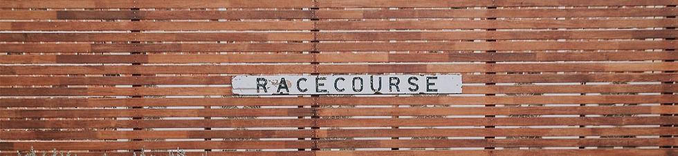 Racecourse Sign