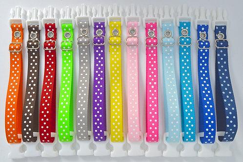 Breeders Club Polka Dot Whelping Collars -  Choose Your Own!
