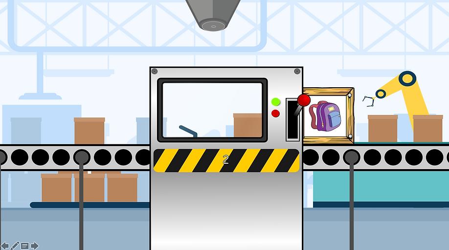 Crate Factory screen