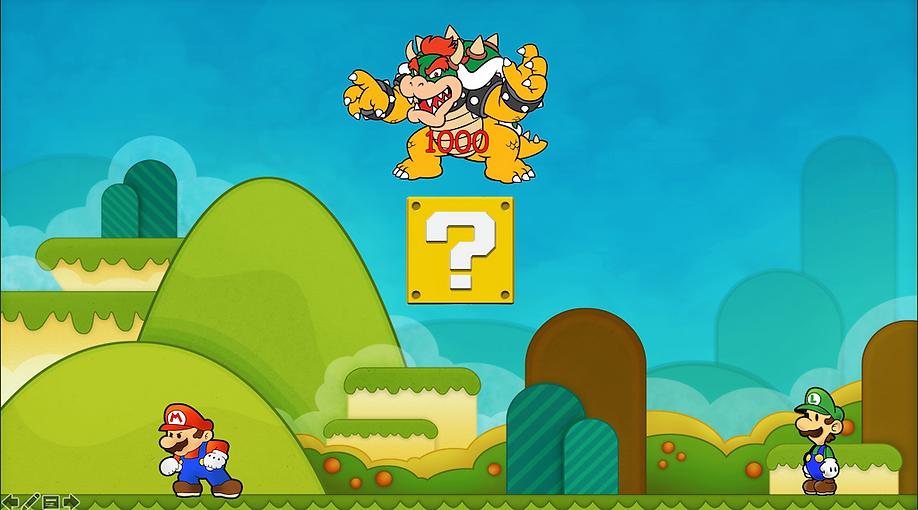 Super Mario negative points