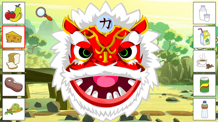 Dragon tooth screen