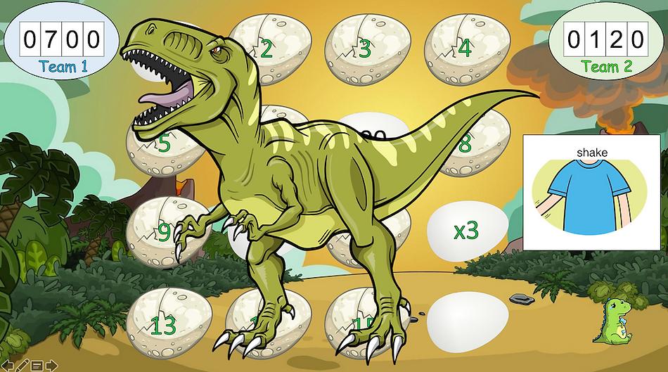 Jurassic Raid dinosaur