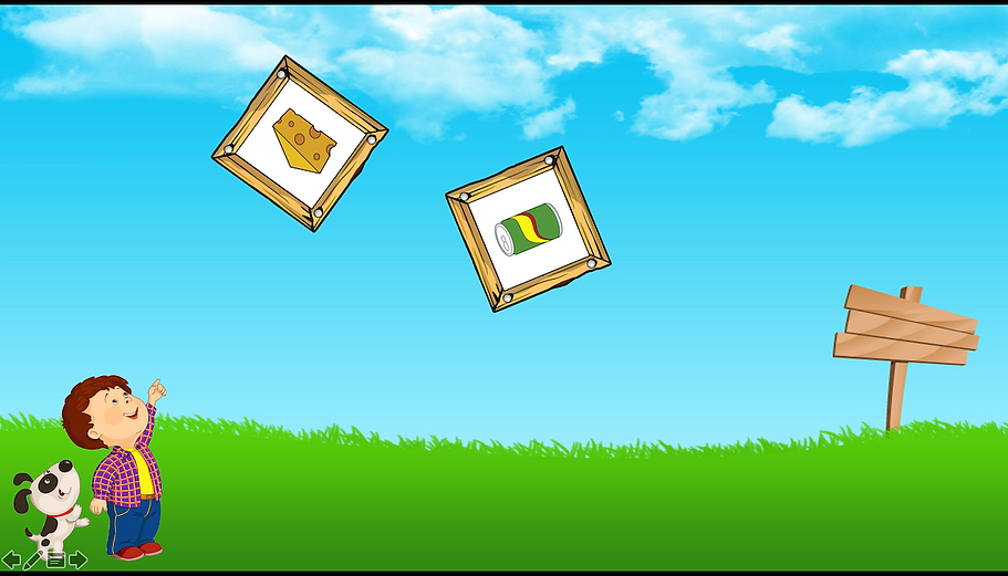 Falling crates screenshot