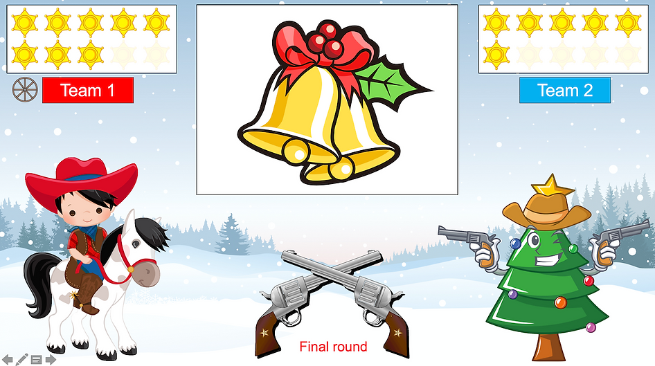 Quick Draw christmas picture review