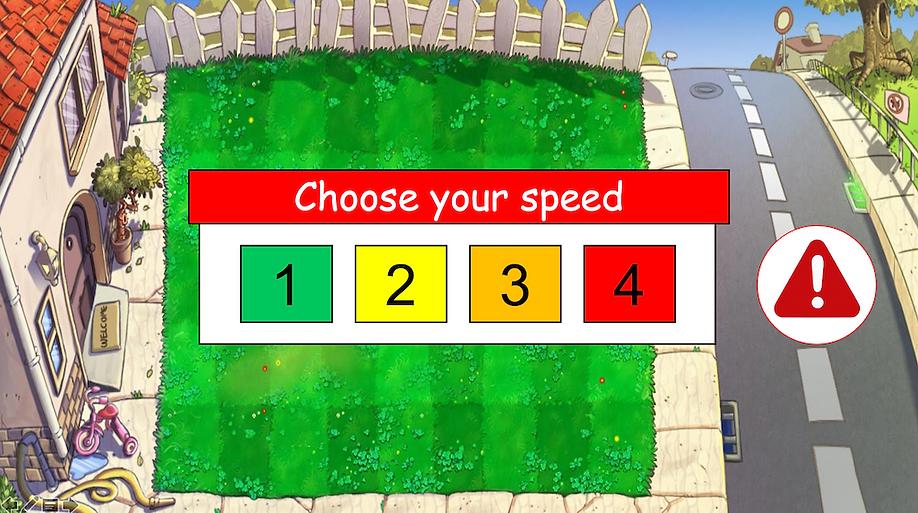 PvZ speed menu