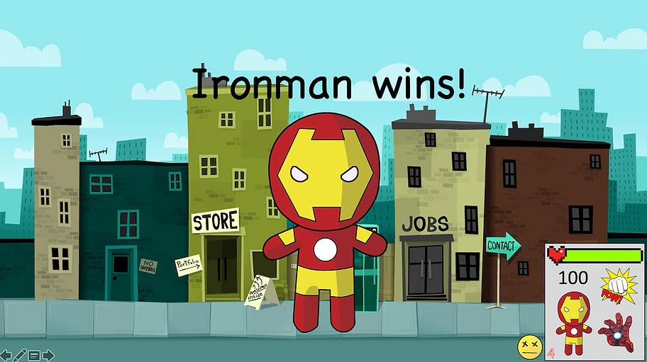 Ironman wins screen