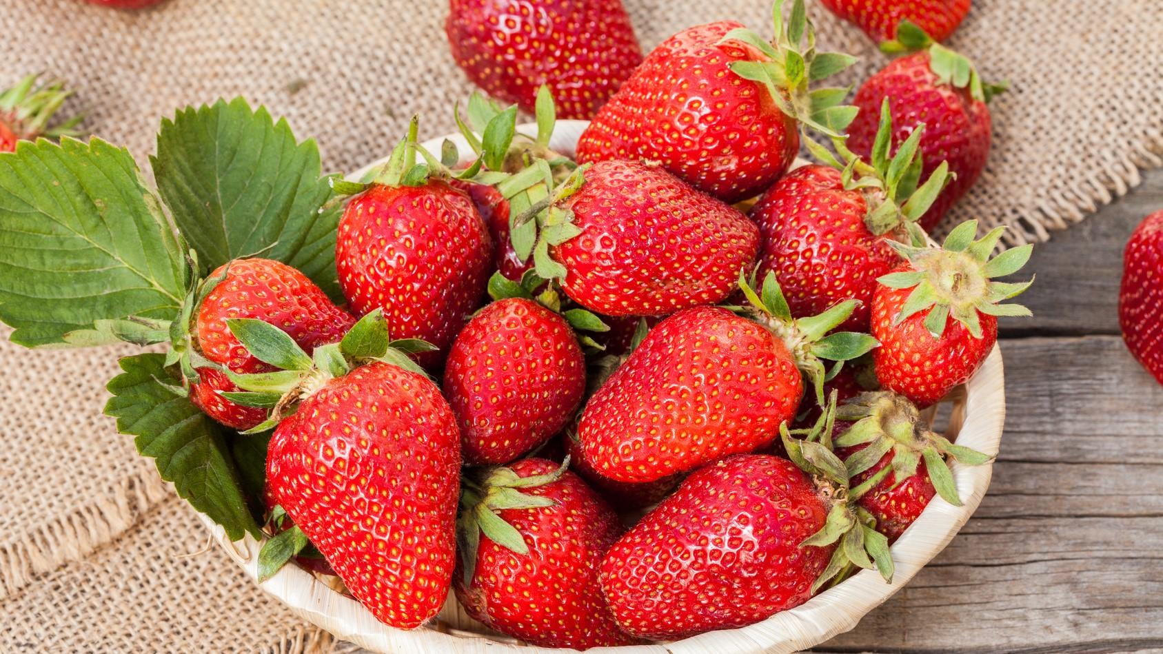 Verse-aardbeien