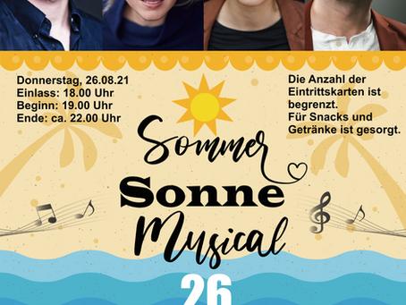 Musical-Konzert am 26. August