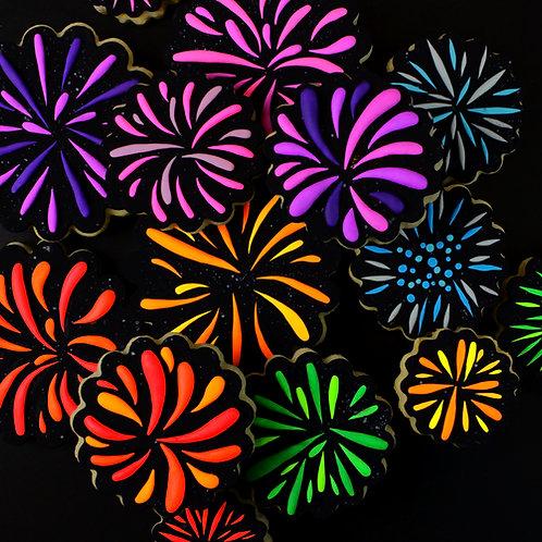 Firework Cookie Set- 16 pc